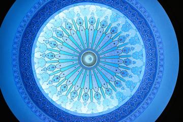 The Ceiling of Islamic Arts Museum Malaysia in Kuala Lumpur