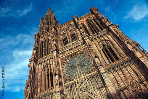canvas print picture Strasbourg, Dom