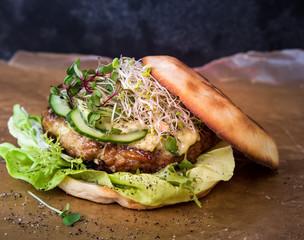 Fischburger Hamburger