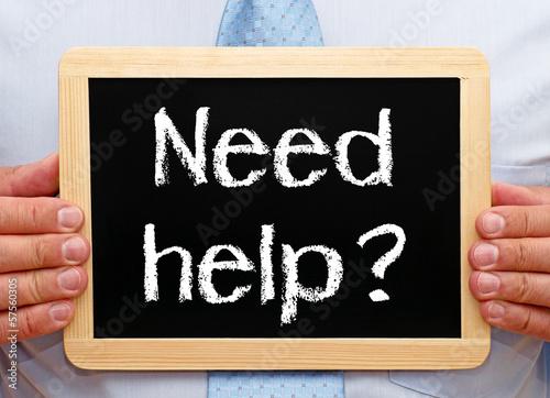 Need help ?