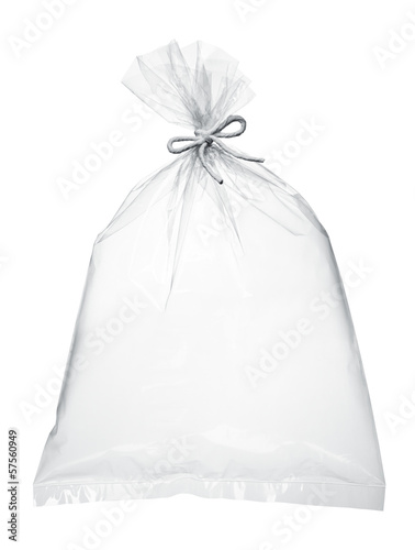 air in plastic bag