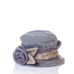 modern knitted woolen hat