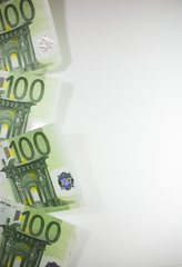 Sfondo di 100 euro