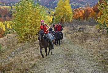 Equestrian tourism in the Carpathians