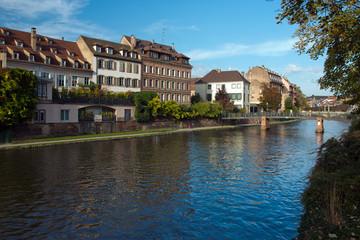Strasbourg, Frankreich, Elsass, Kanal,