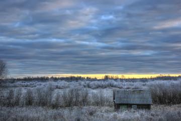 Поздняя осень, Россия