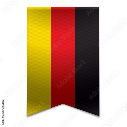 Ribbon banner - german flag