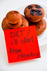 Diet I'll start from monday