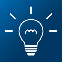 Glühbirne - Idee - Vektor