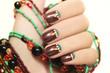 Этнические ногти.