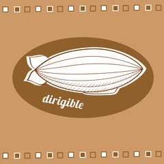 Dirigible balloon