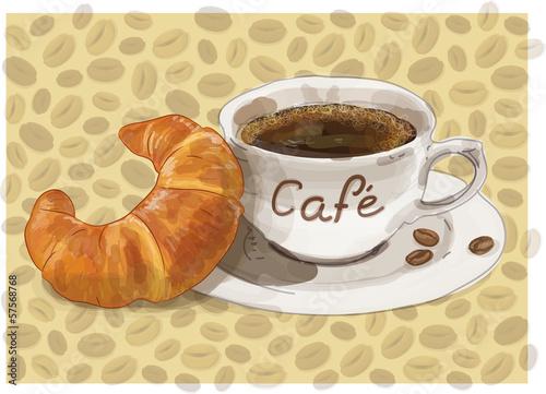 Frühstück Kaffee café