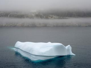 Eisscholle im Prinz-Christian-Sund, Grönland
