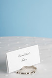 Place card on table