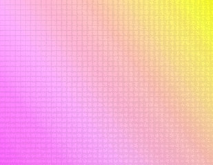 ピンクのグラデーションのタイル風背景イラスト