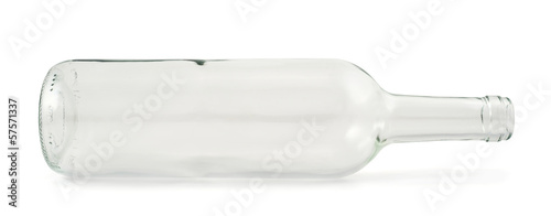 Glass bottle isolated - 57571337