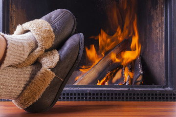 homely cozy fireplace pictures