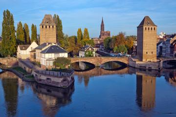 Strasbourg, Frankreich, Elsass, Kanal,  Petite France,