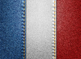 Denim France flag