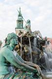 Neptunbrunnen  Fountaine of Neptune  in Berlin, Germany