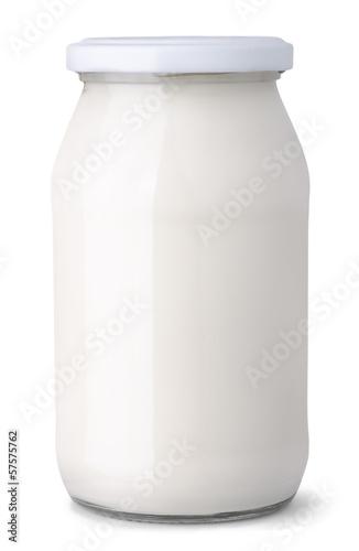 Leinwandbild Motiv Dairy jar