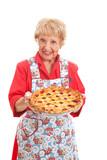 Fototapety Grandmas Homemade Cherry Pie