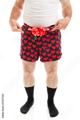 Sexy Christmas Gift - Guy in Boxers