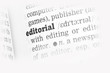Editorial  Dictionary Definition