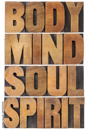 body, mind, soul and spirit