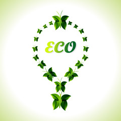 Eco Bulb Background