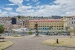 canvas print picture - Quito-Historische Altstadt