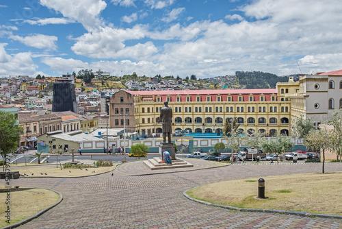 canvas print picture Quito-Historische Altstadt
