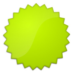 Schild grün Stern