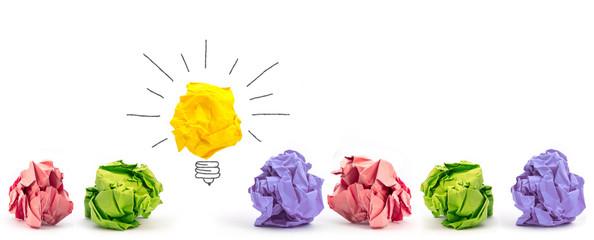 Viele verworfene Konzepte... und die entscheidende Idee