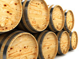 Barrels for wine-whisky aging