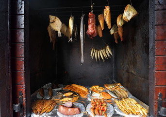 Marine fish from smokehouse is the best source of omega 3
