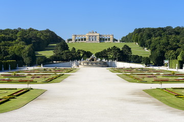 Gloriette im Schlosspark Schönbrunn, Wien