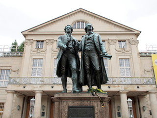 Goethe–Schiller Monument - Weimar, Germany