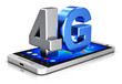 4G LTE wireless technology concept