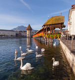 Lucerne, the Chapel Bridge
