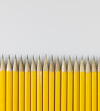 Pencils in Row