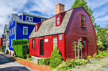 Traditional New England House