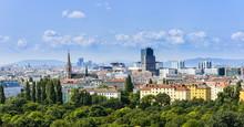 "Постер, картина, фотообои ""Wien Skyline"""