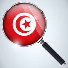 NSA USA Government Spy Program Country Tunisia