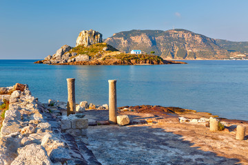 Ancient ruins on Kos, Greece