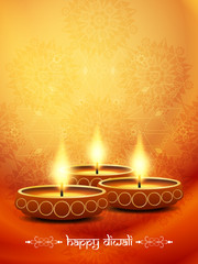religious background design for diwali festival