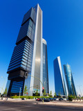 Cuatro Torres Business Area. Madrid, Spain