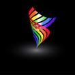 Regenbogenwirbel