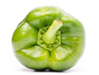 Green Bell Pepper Isolated