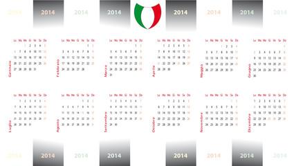 calendario 2014 bianconero